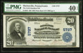 National Bank Notes:Pennsylvania, Marienville, PA - $20 1902 Plain Back Fr. 659 The Gold Standard NBCh. # 5727. ...