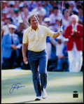 Golf Collectibles:Autographs, Jack Nicklaus Oversized Photograph. ...