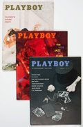 Magazines:Miscellaneous, Playboy 1959 Group of 5 (HMH Publishing, 19590) Condition: VF+....(Total: 5 Items)