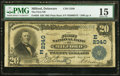 National Bank Notes:Delaware, Milford, DE - $20 1902 Plain Back Fr. 658 The First NB Ch. # (E)2340. ...