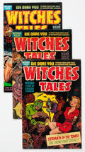 Golden Age (1938-1955):Horror, Witches Tales Group of 5 (Harvey, 1951-54) Condition: AverageVG+.... (Total: 5 Comic Books)