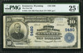 National Bank Notes:Wyoming, Kemmerer, WY - $10 1902 Plain Back Fr. 633 The First NB Ch. # 5480. ...