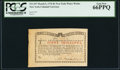Colonial Notes:New York, New York March 5, 1776 (Water Works) 8s PCGS Gem New 66PPQ.. ...