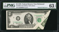 Error Notes:Foldovers, Fr. 1935-E $2 1976 Federal Reserve Note. PMG Choice Uncirculated 63EPQ.. ...