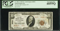 National Bank Notes:Wyoming, Evanston, WY - $10 1929 Ty. 2 The First NB Ch. # 8534. ...