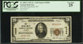 National Bank Notes:Wyoming, Green River, WY - $20 1929 Ty. 1 First NB Ch. # 10698. ...
