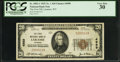 National Bank Notes:Wyoming, Laramie, WY - $20 1929 Ty. 1 The First NB Ch. # 4989. ...