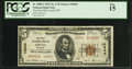 National Bank Notes:Wyoming, Lovell, WY - $5 1929 Ty. 2 The First NB Ch. # 10844. ...