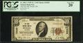 National Bank Notes:Wyoming, Powell, WY - $10 1929 Ty. 1 The First NB Ch. # 10265. ...