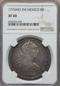Mexico, Mexico: Charles III 8 Reales 1775 Mo-FM XF40 NGC,...