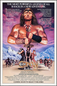 """Conan the Destroyer (Universal, 1984). One Sheet (27"""" X 41"""") Advance. Action"""