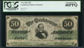 Confederate Notes:1861 Issues, T16 $50 1861 PF-12 Cr. 84.. ...