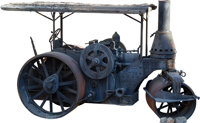 Antique Steam Roller (c. late 1800s)