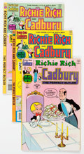 Bronze Age (1970-1979):Cartoon Character, Richie Rich and Cadbury File Copies Box Lot (Harvey, 1974-81) Condition: Average NM-....
