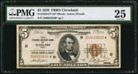 Fr. 1850-D* $5 1929 Federal Reserve Bank Note. PMG Very Fine 25