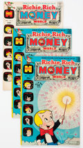 Bronze Age (1970-1979):Cartoon Character, Richie Rich Money World File Copies Box Lot(Harvey, 1972-82)Condition: Average NM-....