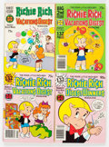 Bronze Age (1970-1979):Humor, Richie Rich and Casper Digest-Format File Copies Box Lot (Harvey, 1970s) Condition: Average NM-....