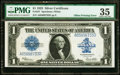 Error Notes:Large Size Errors, Fr. 237 $1 1923 Silver Certificate PMG Choice Very Fine 35.. ...