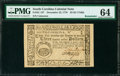 Colonial Notes:South Carolina, South Carolina December 23, 1776 $3 PMG Choice Uncirculated 64.....