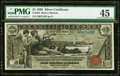 Error Notes:Large Size Errors, Fr. 225 $1 1896 Silver Certificate PMG Choice Extremely Fine 45.. ...