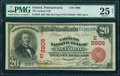 National Bank Notes:Pennsylvania, Oxford, PA - $20 1902 Red Seal Fr. 639 The Farmers NB Ch. #(E)2906. ...