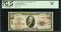 National Bank Notes:Wyoming, Cody, WY - $10 1929 Ty. 1 The First NB Ch. # 7319. ...
