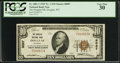 National Bank Notes:Wyoming, Douglas, WY - $10 1929 Ty. 1 The Douglas NB Ch. # 8087. ...