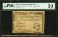 Colonial Notes:South Carolina, South Carolina February 14, 1777 $20 PMG Very Fine 30.. ...