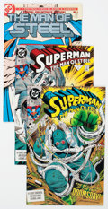 Modern Age (1980-Present):Superhero, Superman: The Man of Steel and Others Box Lot (DC, 1990s-2000s)Condition: Average NM-....