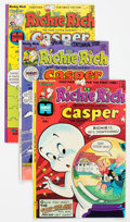 Bronze Age (1970-1979):Cartoon Character, Richie Rich and Casper File Copies Box Lot (Harvey, 1974-82) Condition: Average NM-....