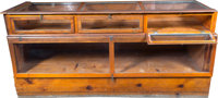 General Store Display Case Group of 3 (c. 1940s-50s).... (Total: 3 Items)