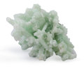 Minerals:Cabinet Specimens, Prehnite after Laumontite with Apophyllite. Mumbai District(Bombay District). Maharashtra. India. 5.71 x4.72...