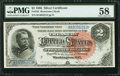 Large Size:Silver Certificates, Fr. 242 $2 1886 Silver Certificate PMG Choice About Unc 58.. ...