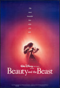 "Movie Posters:Animation, Beauty and the Beast (Buena Vista, 1991). One Sheets (2) (27"" X 40""& 27"" X 41"") DS Advance & Regular. Animation.. ... (Total:2 Items)"