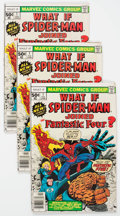Bronze Age (1970-1979):Superhero, What If? #1 Long Box Group (Marvel, 1977) Condition: Average VG/FN....