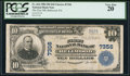 National Bank Notes:Pennsylvania, Bellwood, PA - $10 1902 Plain Back Fr. 624 The First NB Ch. # 7356. ...