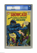 Silver Age (1956-1969):Superhero, Showcase #7 Challengers of the Unknown - Bethlehem pedigree (DC,1957) CGC NM- 9.2 Cream to off-white pages. In the second a...