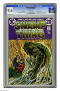 Bronze Age (1970-1979):Horror, Swamp Thing #1 (DC, 1972) CGC NM+ 9.6 White pages. BernieWrightson's run of Swamp Thing #1-10 is considered by many fan...