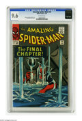 Silver Age (1956-1969):Superhero, The Amazing Spider-Man #33 (Marvel, 1966) CGC NM+ 9.6 Off-white pages. This is possibly the greatest story of the Steve Ditk...
