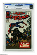 Silver Age (1956-1969):Superhero, The Amazing Spider-Man #43 Boston pedigree (Marvel, 1966) CGC NM+ 9.6 Off-white to white pages. Love is blooming between Pet...