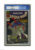 Silver Age (1956-1969):Superhero, The Amazing Spider-Man #44 Curator pedigree (Marvel, 1967) CGC NM+9.6 White pages. The Lizard's back for his second appeara...
