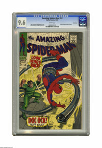 The Amazing Spider-Man #53 Northland pedigree (Marvel, 1967) CGC NM+ 9.6 White pages. Not only does Doctor Octopus battl...
