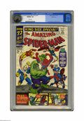 Silver Age (1956-1969):Superhero, The Amazing Spider-Man Annual #3 Pacific Coast pedigree (Marvel,1966) CGC NM/MT 9.8 White pages. This astounding Pacific Co...