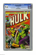 "Bronze Age (1970-1979):Superhero, The Incredible Hulk #181 (Marvel, 1974) CGC NM+ 9.6 White pages. ""And now... the Wolverine!"" And how, true believers! Here's..."