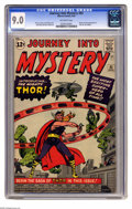 Silver Age (1956-1969):Superhero, Journey Into Mystery #83 (Marvel, 1962) CGC VF/NM 9.0 Off-whitepages. This is one of the key Silver Age Marvel issues, the ...