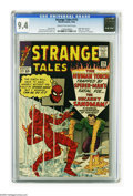 Silver Age (1956-1969):Superhero, Strange Tales #115 (Marvel, 1963) CGC NM 9.4 Cream to off-white pages. Marvel finally got around to telling Dr. Strange's or...