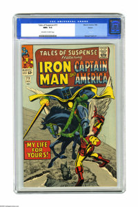 Tales of Suspense #73 Boston pedigree (Marvel, 1966) CGC NM+ 9.6 Off-white to white pages. The very Gene Colan-like Adam...