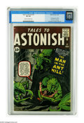 Silver Age (1956-1969):Superhero, Tales to Astonish #27 (Marvel, 1962) CGC VF 8.0 Cream to off-whitepages. This is the most valuable issue of the series than...