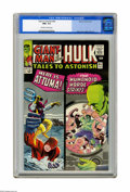 Silver Age (1956-1969):Superhero, Tales to Astonish #64 (Marvel, 1965) CGC NM+ 9.6 Off-white to whitepages. Jack Kirby cover. Hulk story with Steve Ditko art...