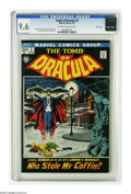 Bronze Age (1970-1979):Horror, Tomb of Dracula #2 Massachusetts pedigree (Marvel, 1972) CGC NM+9.6 Off-white to white pages. John Severin cover. Gene Cola...